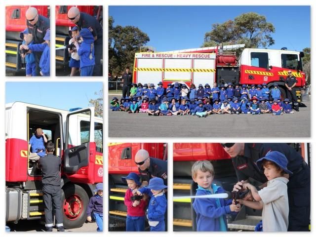 The Fire Brigade visit Pre Primary